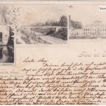 Groet uit Baarn 1898