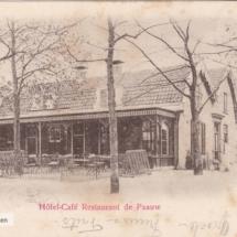 Hotel restaurant de Pauw Baarn 1900