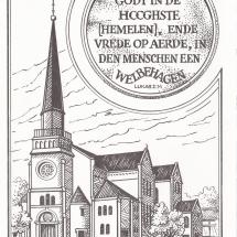 verjaardagskaart gereformeerde kerk Baarn
